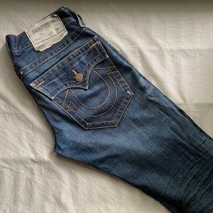 True religion size 28 straight leg